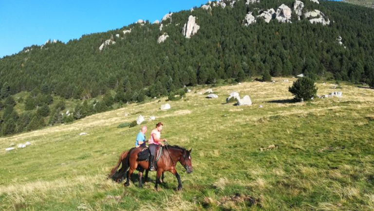 Balade à cheval dans les Pyrénées-Orientales